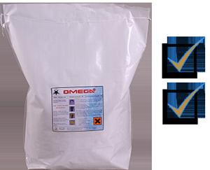 Omega bag with check list ticks